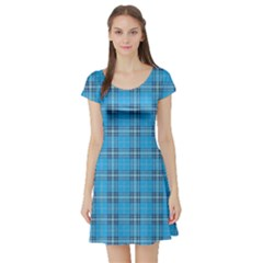 The Checkered Tablecloth Short Sleeve Skater Dress