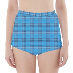 The Checkered Tablecloth High-Waisted Bikini Bottoms