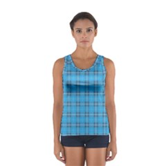 The Checkered Tablecloth Women s Sport Tank Top