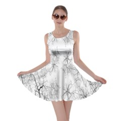 Tree Knots Bark Kaleidoscope Skater Dress