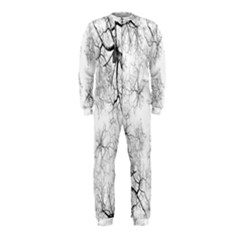 Tree Knots Bark Kaleidoscope OnePiece Jumpsuit (Kids)