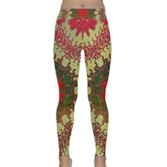 Tile Background Image Color Pattern Classic Yoga Leggings
