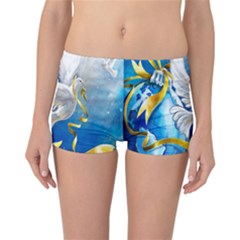 Turtle Doves Christmas Reversible Bikini Bottoms