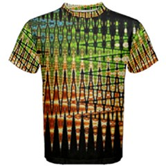 Triangle Patterns Men s Cotton Tee