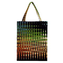 Triangle Patterns Classic Tote Bag