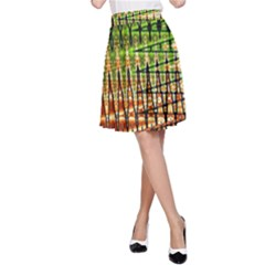 Triangle Patterns A Line Skirt