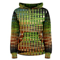 Triangle Patterns Women s Pullover Hoodie