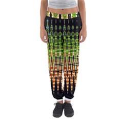 Triangle Patterns Women s Jogger Sweatpants