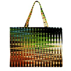 Triangle Patterns Large Tote Bag