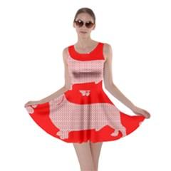 Ugly X Mas Design Skater Dress