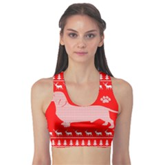Ugly X Mas Design Sports Bra