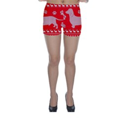 Ugly X Mas Design Skinny Shorts