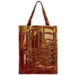 Tuba Valves Pipe Shiny Instrument Music Classic Tote Bag