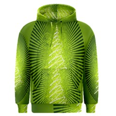 Vector Chirstmas Tree Design Men s Pullover Hoodie