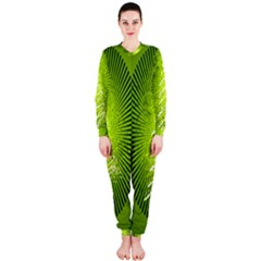 Vector Chirstmas Tree Design Onepiece Jumpsuit (ladies)