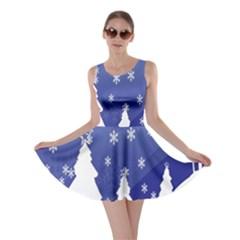 Vector Christmas Design Skater Dress