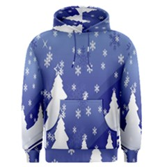 Vector Christmas Design Men s Pullover Hoodie