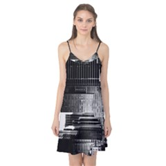 Urban Scene Street Road Busy Cars Camis Nightgown