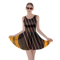 Vintage Guitar Acustic Skater Dress