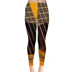 Vintage Guitar Acustic Leggings