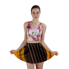 Vintage Guitar Acustic Mini Skirt