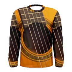 Vintage Guitar Acustic Men s Long Sleeve Tee