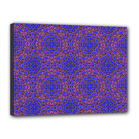 Tile Background Image Pattern Canvas 16  X 12