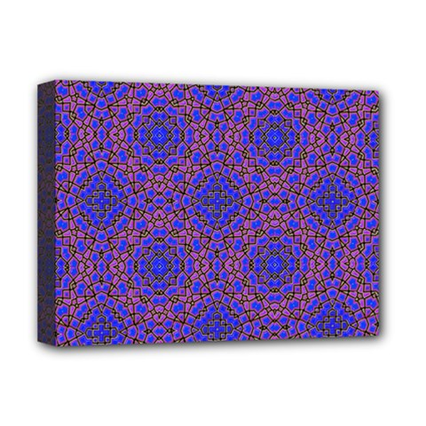 Tile Background Image Pattern Deluxe Canvas 16  x 12