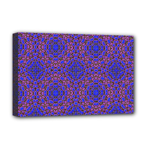 Tile Background Image Pattern Deluxe Canvas 18  X 12