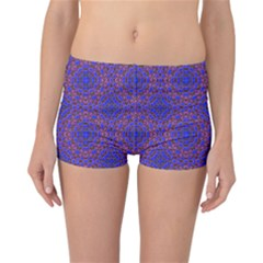 Tile Background Image Pattern Reversible Bikini Bottoms