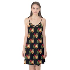 Vintage Roses Wallpaper Pattern Camis Nightgown