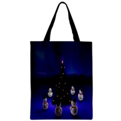 Waiting For The Xmas Christmas Zipper Classic Tote Bag
