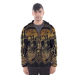Virus Computer Encryption Trojan Hooded Wind Breaker (men)