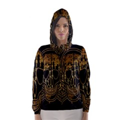 Virus Computer Encryption Trojan Hooded Wind Breaker (women)