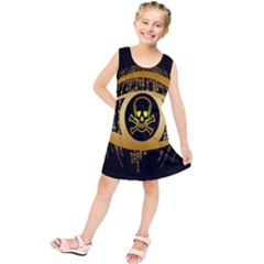 Virus Computer Encryption Trojan Kids  Tunic Dress