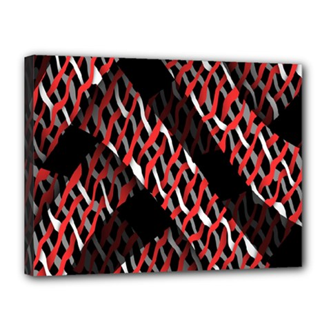 Weave And Knit Pattern Seamless Canvas 16  x 12
