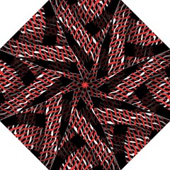 Weave And Knit Pattern Seamless Hook Handle Umbrellas (Large)