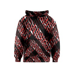 Weave And Knit Pattern Seamless Kids  Pullover Hoodie