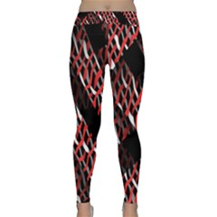 Weave And Knit Pattern Seamless Classic Yoga Leggings