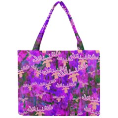 Watercolour Paint Dripping Ink Mini Tote Bag
