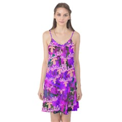 Watercolour Paint Dripping Ink Camis Nightgown