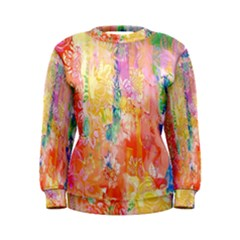 Watercolour Watercolor Paint Ink Women s Sweatshirt
