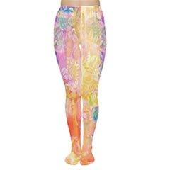 Watercolour Watercolor Paint Ink Women s Tights