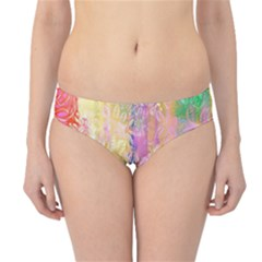 Watercolour Watercolor Paint Ink Hipster Bikini Bottoms