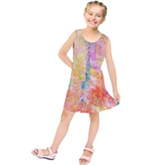 Watercolour Watercolor Paint Ink Kids  Tunic Dress