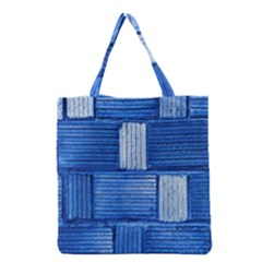 Wall Tile Design Texture Pattern Grocery Tote Bag