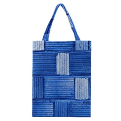 Wall Tile Design Texture Pattern Classic Tote Bag