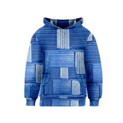 Wall Tile Design Texture Pattern Kids  Pullover Hoodie