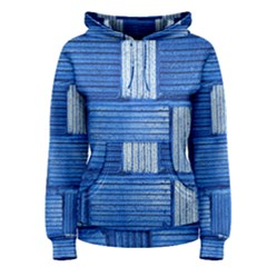 Wall Tile Design Texture Pattern Women s Pullover Hoodie