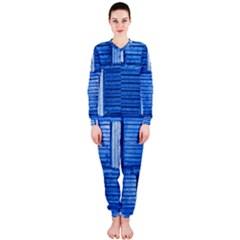 Wall Tile Design Texture Pattern Onepiece Jumpsuit (ladies)